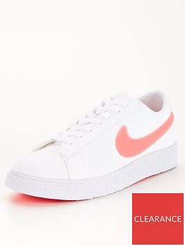 nike-blazer-low-junior-trainers-white