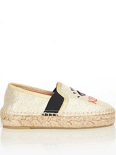 kenzo-girls-foil-espadrille-shoes-beige
