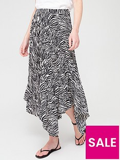 v-by-very-asymmetricnbsppleated-skirt-zebranbsp