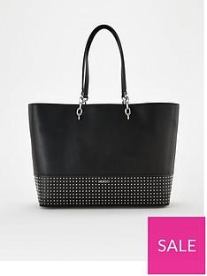hugo-victoria-studded-shopper-bag-black