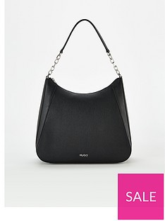 hugo-victoria-hobo-shopper-bag-black