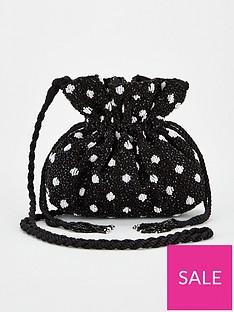 v-by-very-rix-beaded-drawstring-bag-blackwhite