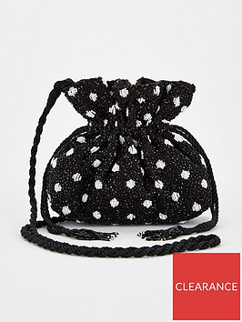 v-by-very-rix-beaded-drawstring-bag-blackwhite