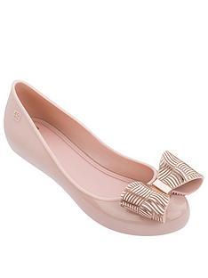 zaxy-pop-joy-metallic-bow-ballerina-blush