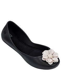 zaxy-start-bloom-contrast-flower-ballerina-black