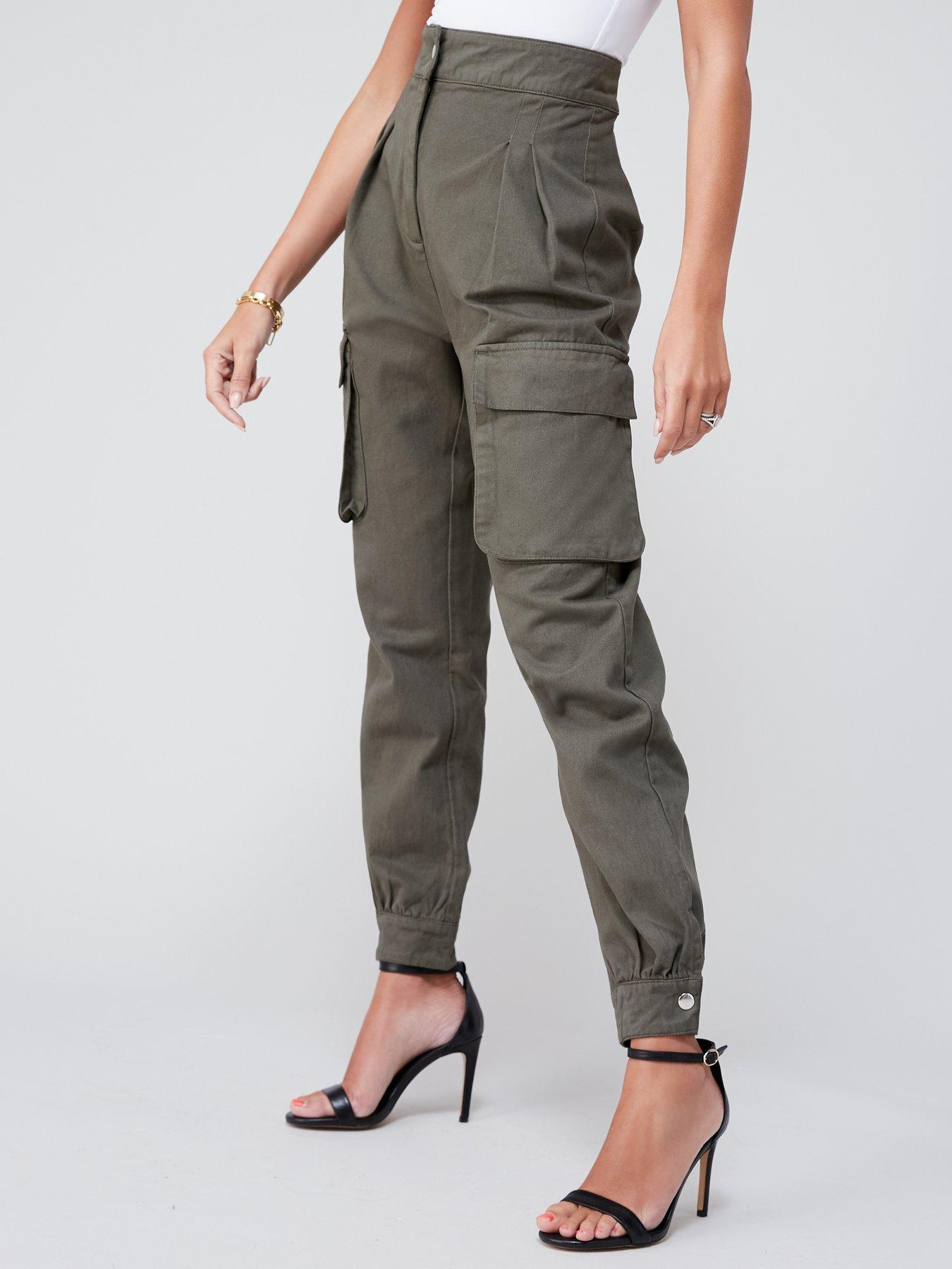 Simply Be Wardrobe Chocolate Ladies Trousers L 29 in Size 14 16 20 24 26 28 UK