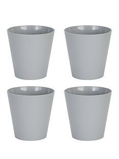 wham-set-of-4-grey-21cm-round-studio-planter-covers