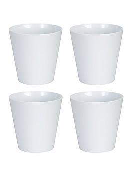 wham-set-of-4-white-16cm-round-studio-planter-covers