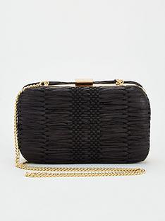 v-by-very-kit-woven-boxclutch-black