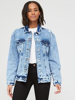 v-by-very-rip-oversized-denim-jacket-mid-wash