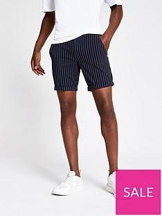 river-island-santo-stripe-shorts