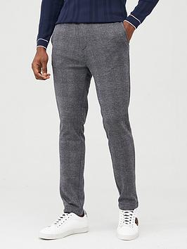 river-island-grey-check-skinny-trousers