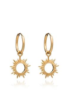 rachel-jackson-london-rachel-jackson-eternal-sun-mini-hoops-22-carat-gold-plated-sterling-silver