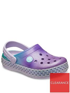 crocs-girls-crocband-mermaid-metallic-clog-slip-ons-lavender