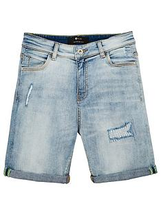 v-by-very-boys-rip-and-repair-denim-shorts-light-vintage-wash