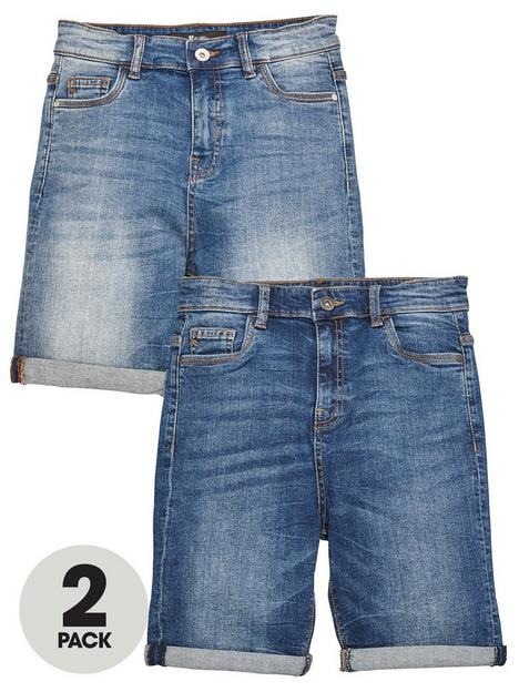v-by-very-boys-2-pack-regular-fit-denim-shorts-dark-and-light-wash