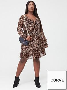v-by-very-curve-leopard-frill-dress-animal-print