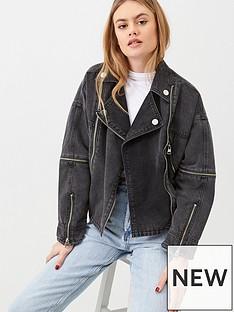 river-island-river-island-belted-zip-front-denim-jacket-black