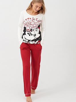 minnie-mouse-mickey-amp-minnie-jadore-long-sleeve-pyjamas-red-spot