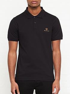 belstaff-logo-embroidered-short-sleeve-polo-shirt-black