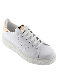 victoria-chunky-sole-leather-tennis-glitter-heel-tab-trainer