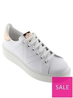 victoria-chunky-sole-leather-tennis-glitter-heel-tab-trainer