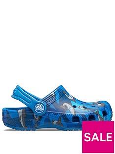 crocs-boys-classic-shark-clog-slip-ons-blue
