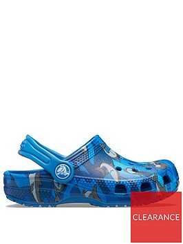 crocs-boys-classic-shark-clog-slip-ons-blue
