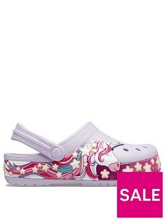 crocs-girls-classic-unicorn-clog-slip-ons-lavender