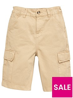 v-by-very-boys-cargo-shorts-stone