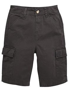 v-by-very-boys-cargo-shorts-black