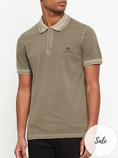 belstaff-logo-embroidered-short-sleeve-polo-shirt--nbspolive