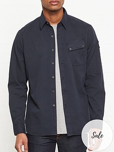 belstaff-steadway-oxford-shirt-navy