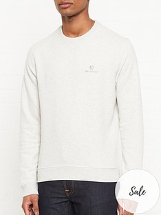 belstaff-chest-logo-sweatshirt-grey