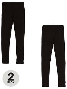 v-by-very-girls-2-pack-leggings-black