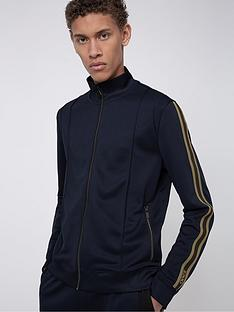 hugo-damazing-tracksuit-top-with-taping-navynbsp