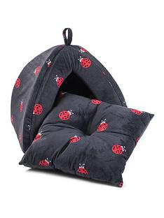 zoon-ladybug-igloo-cat-bed