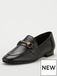 barbour-sofia-chain-flat-shoes-black
