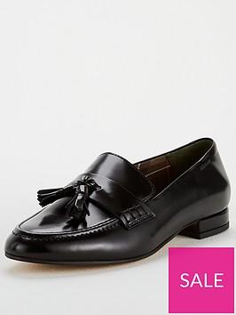 barbour-evelyn-flat-shoe-black