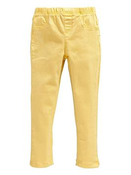 v-by-very-girlsnbspwoven-jeggings-yellow