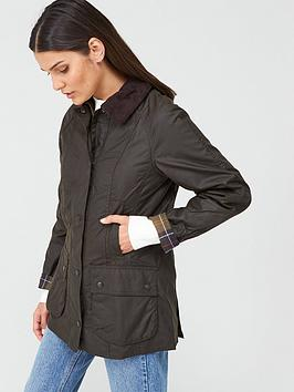 barbour-classic-beadnell-wax-jacket-olive