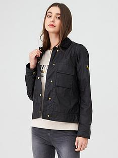 barbour-international-ballpark-wax-jacket-black