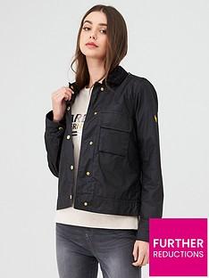 barbour-international-ballpark-wax-jacket-black