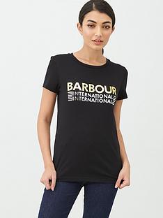 barbour-international-tracktrace-t-shirt-black