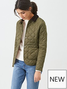 barbour-deveron-quilted-jacket-olive