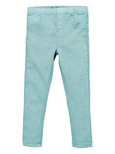 v-by-very-girls-woven-jeggings--nbspgreen