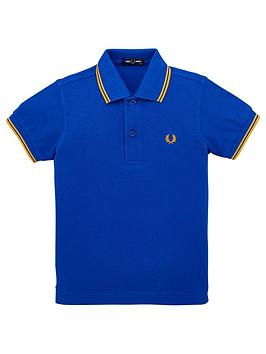 fred-perry-boys-twin-tipped-short-sleeve-polo-shirt-cobalt