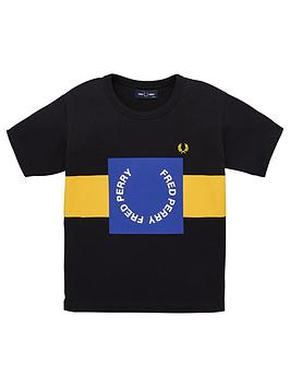 fred-perry-boys-colour-block-graphic-short-sleeve-t-shirt-black
