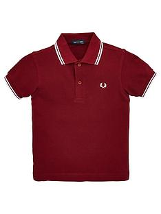 fred-perry-boys-twin-tipped-short-sleeve-polo-port