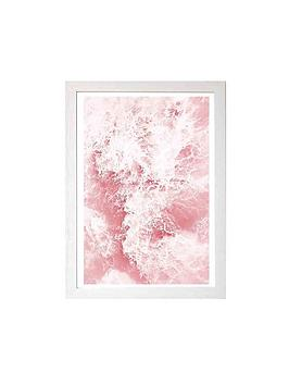 east-end-prints-pink-ocean-by-sisi-amp-seb-a3-framed-wall-art